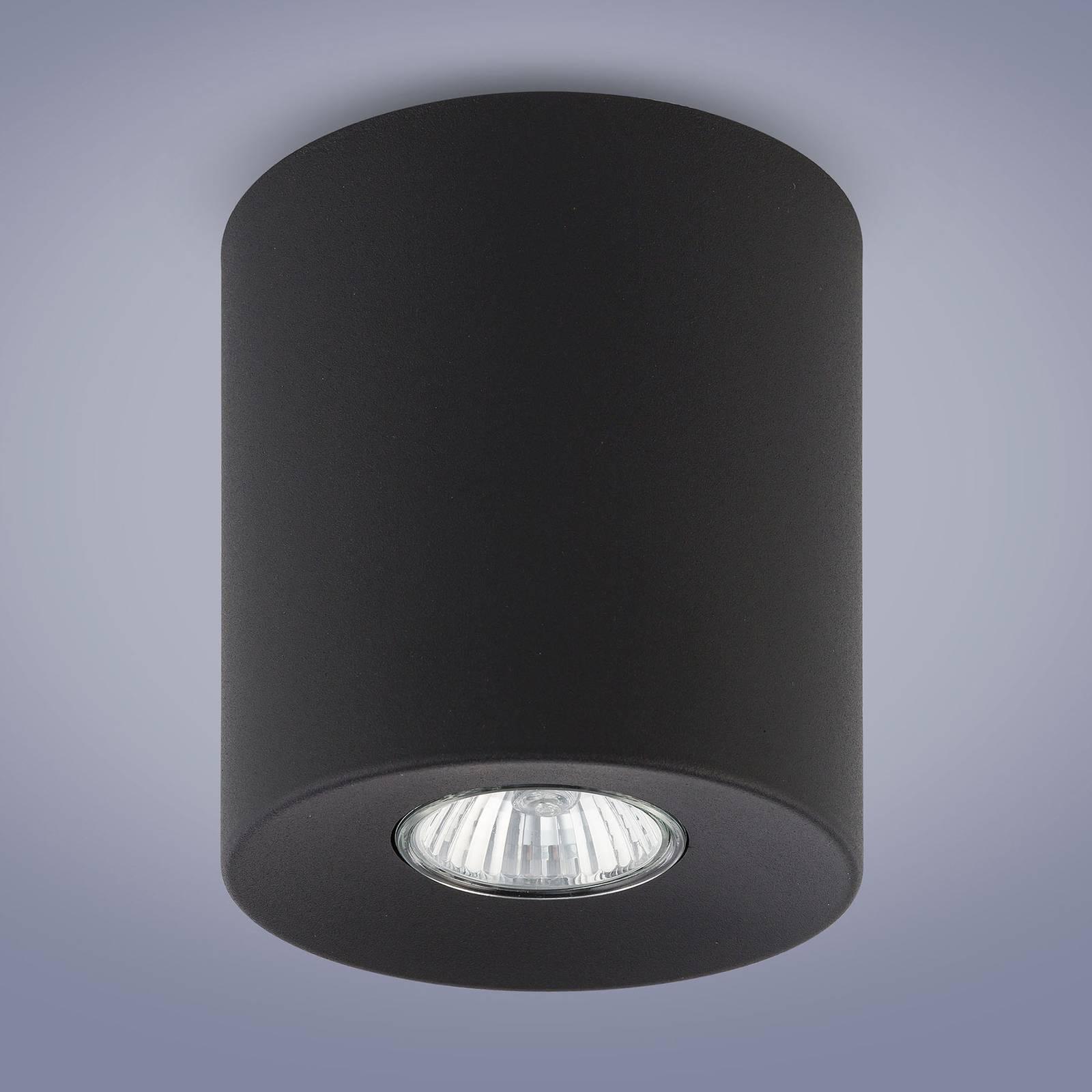 Downlight Orion rund, schwarz, 12,5 cm