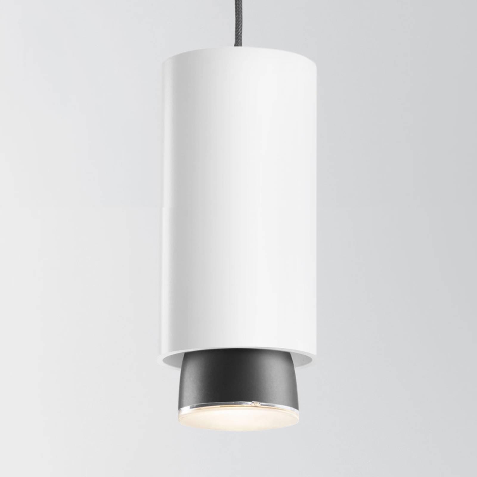 Fabbian Claque suspension LED 20cm blanc