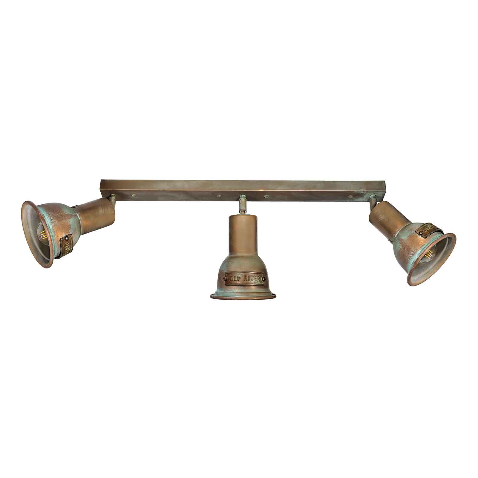 Lampa sufitowa Azali 1549.E27 3-pkt. mosiądz antyk