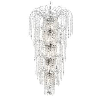 Imponująca lampa wisząca WATERFALL