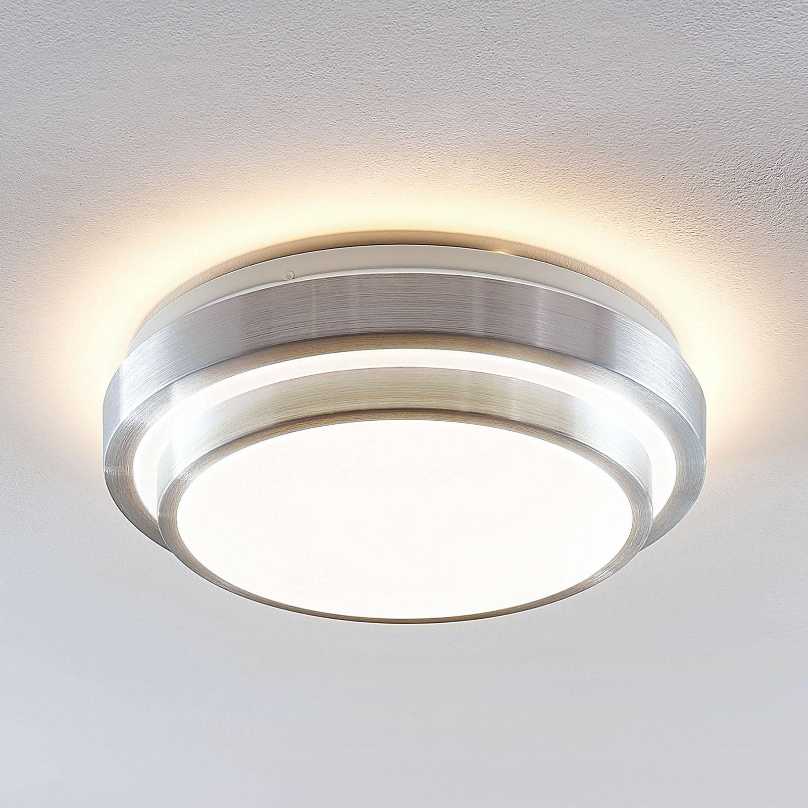 Lindby Naima LED plafondlamp, rond, 34 cm