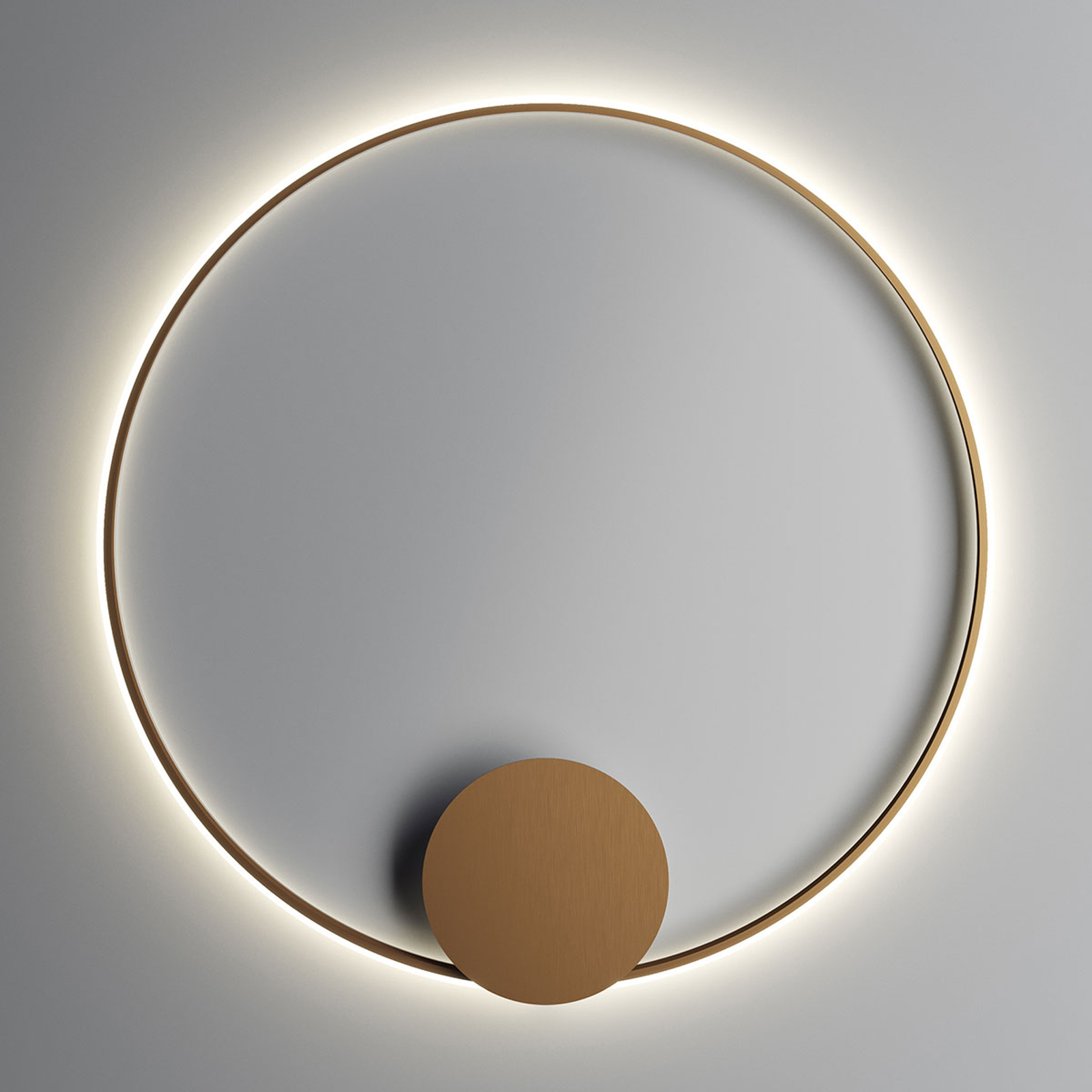 Fabbian Olympic LED wandlamp Ø 110 cm brons