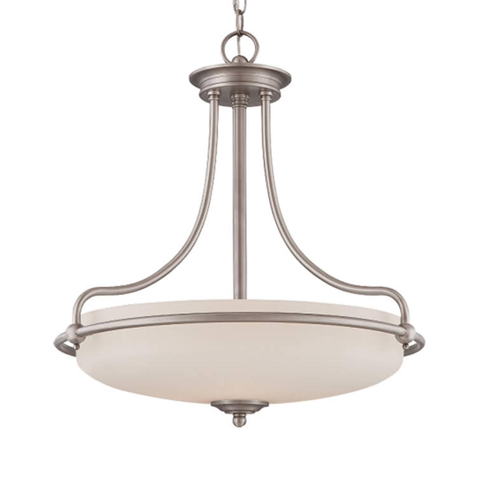 Hanglamp Griffin antiek nikkel