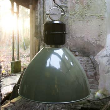 Olivengrønn pendellampe Frisk i industri-design