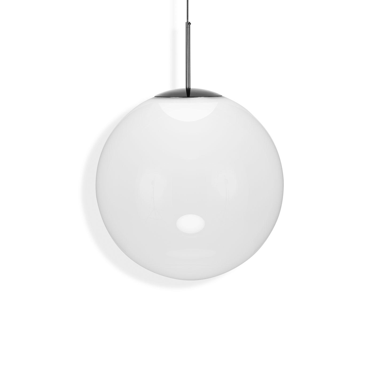 Tom Dixon Opal sfera LED a sospensione, Ø 50 cm