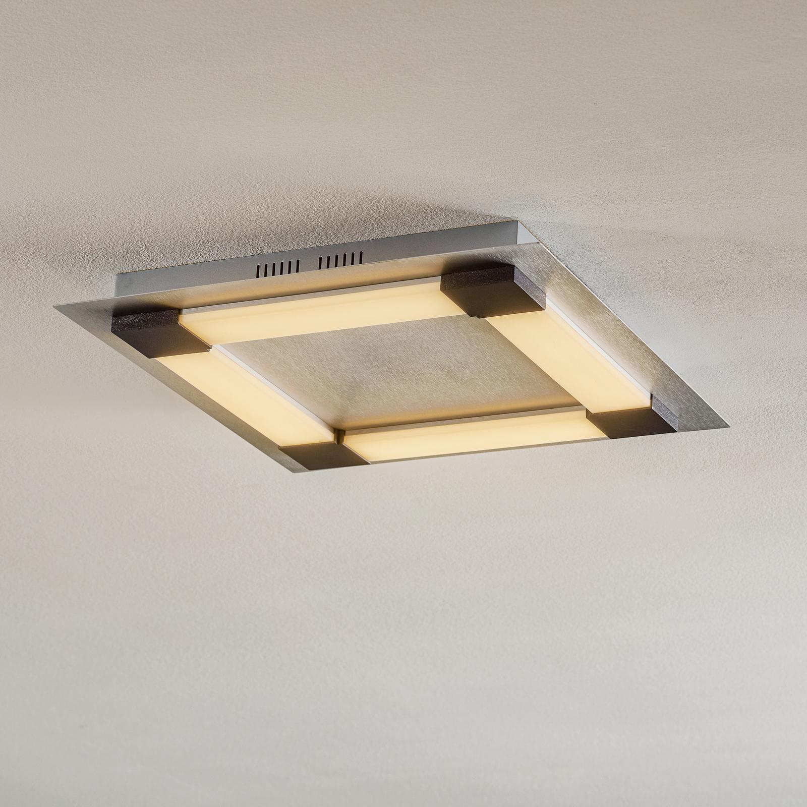 Bopp Plain LED-taklampe 48x48cm smart styrbar