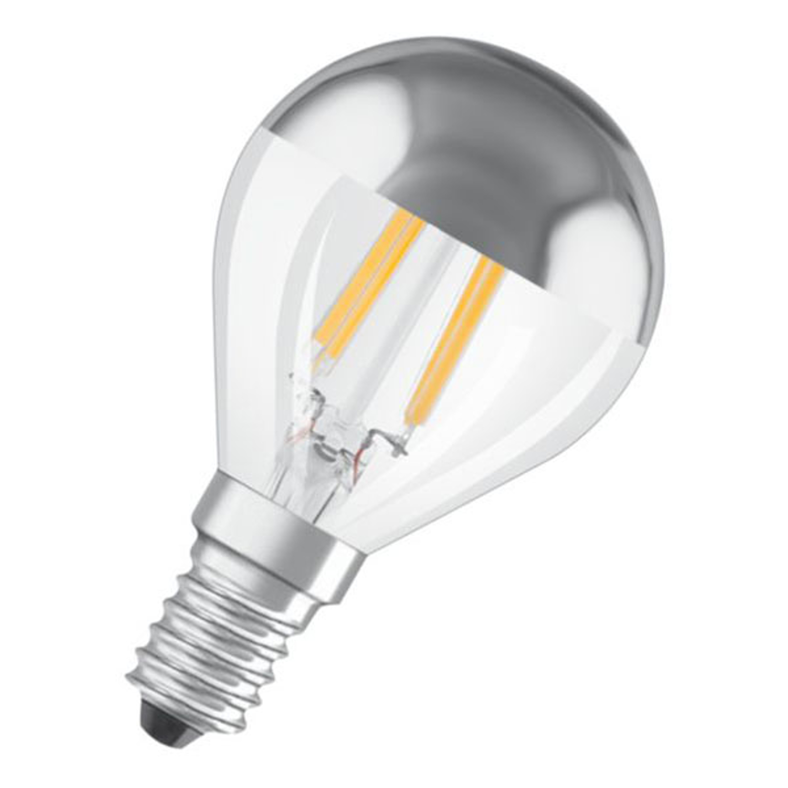OSRAM Classic P Mirror LED-Lampe E14 4W 2.700K
