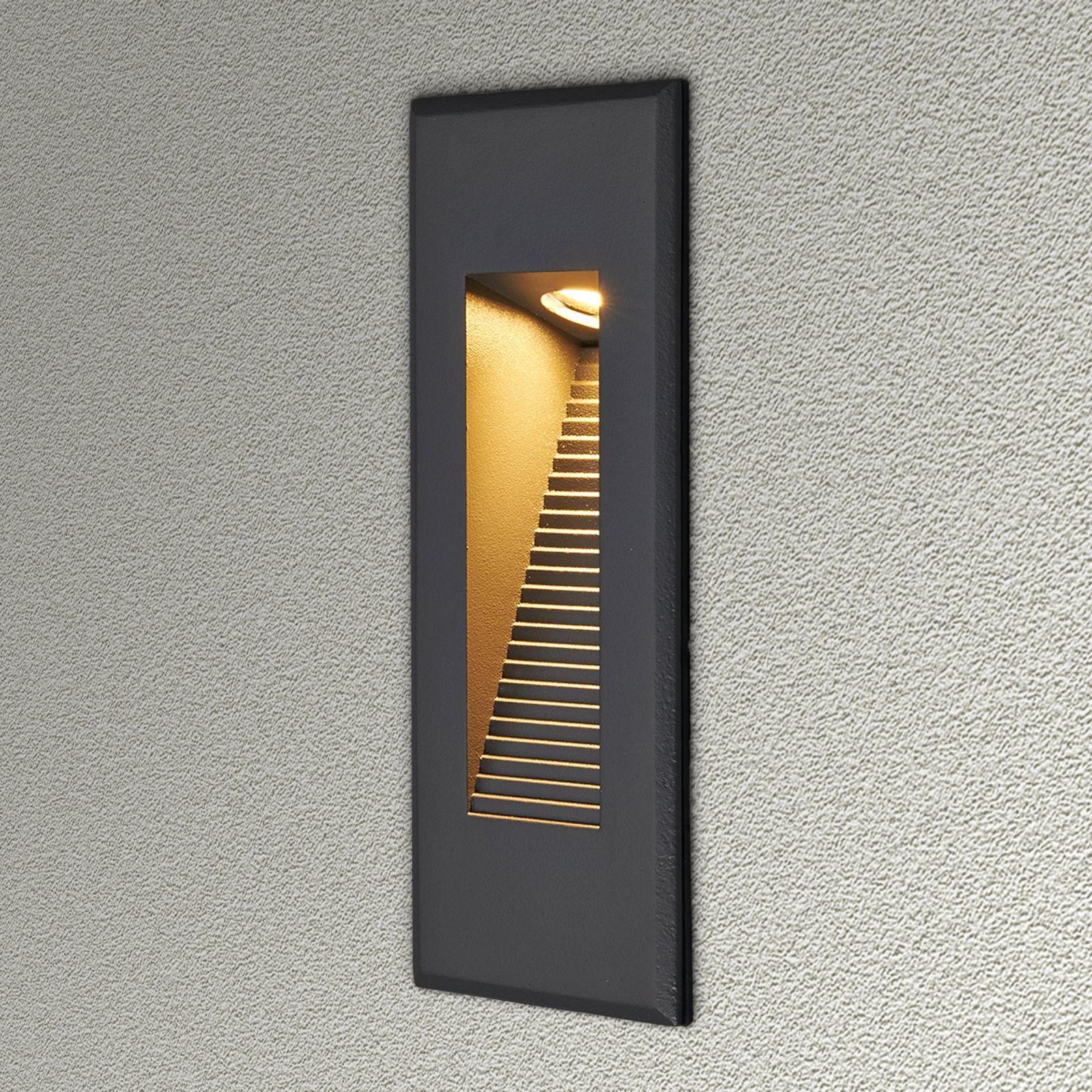 Applique encastrée LED Nuno à éclairage indirect