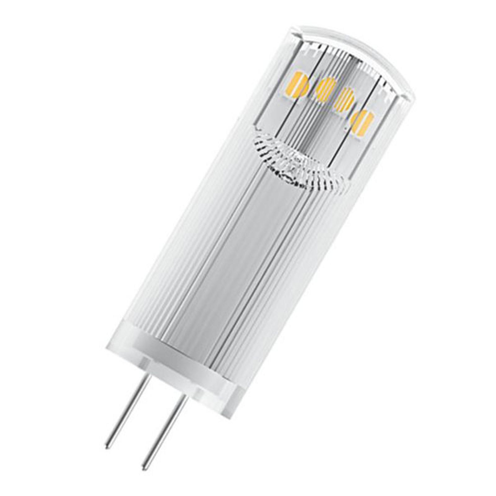 OSRAM LED-Stiftsockellampe G4 1,8W 2.700K klar