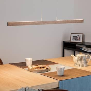 LED závěsné světlo Pia senzor gest dub 95 cm