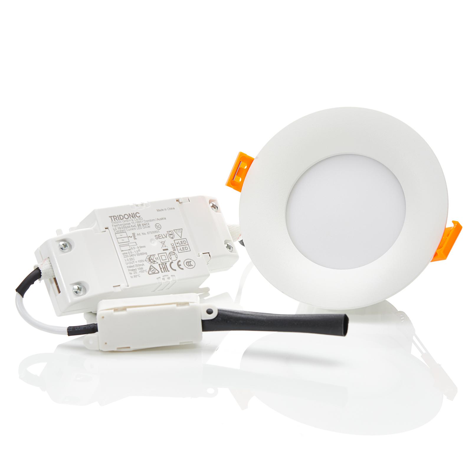 Arcchio Xavian LED-innfellingslampe, 4000K 9,8 cm