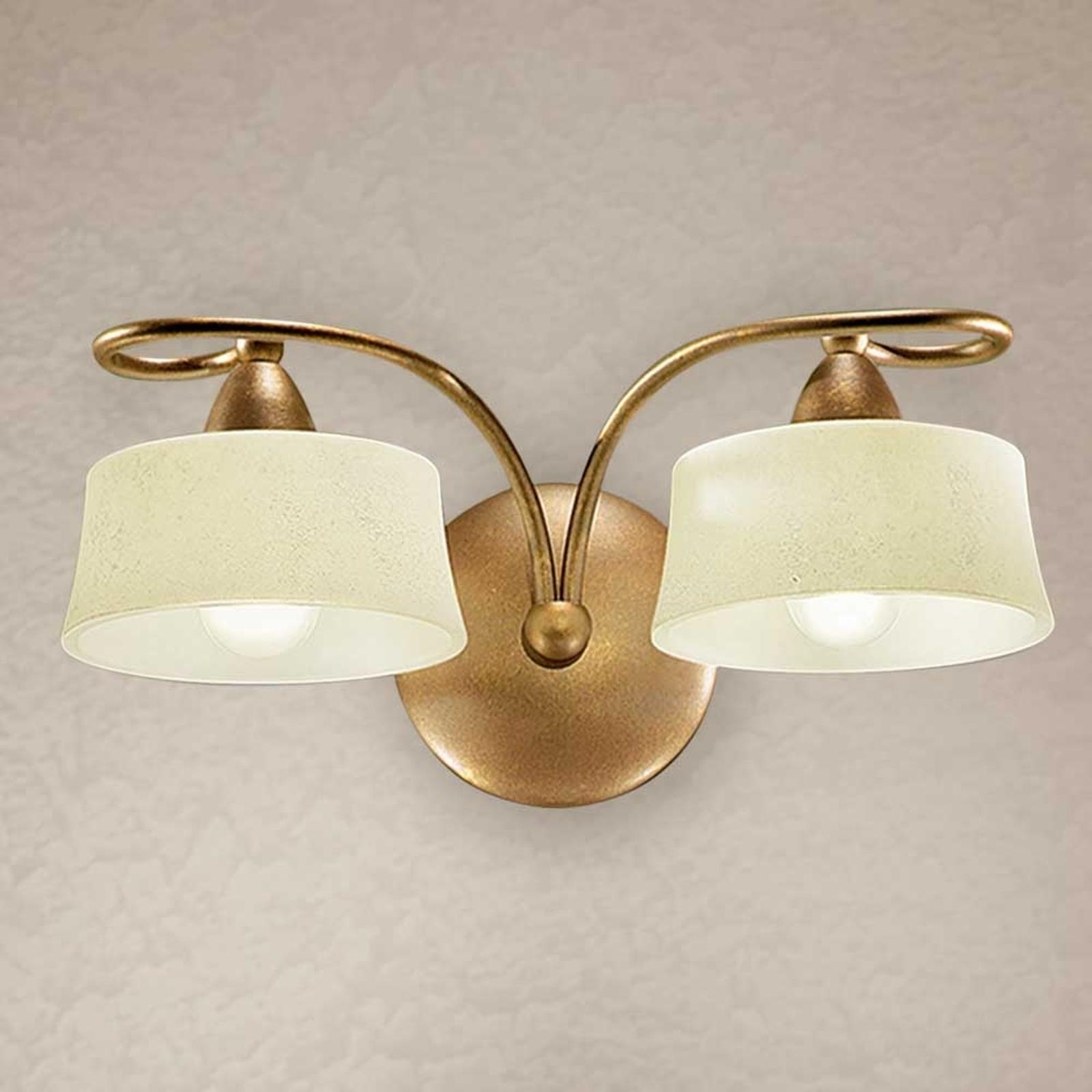 Vegglampe Alessio, 2 lyskilder