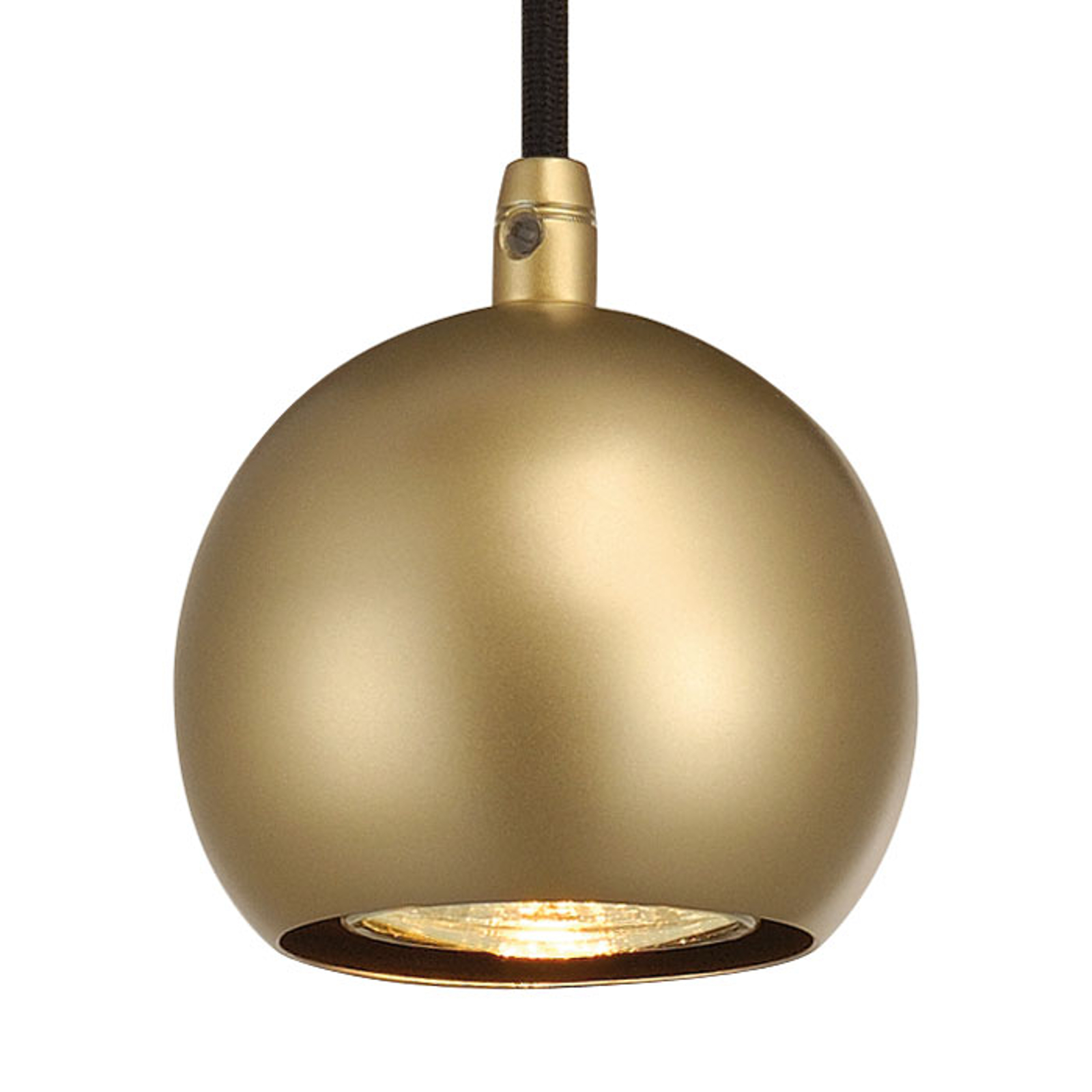 SLV Light Eye Ball lampa wisząca mosiądz