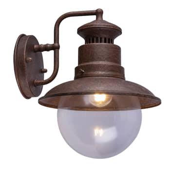 Sella venkovní nástěnné světlo, vintage, ocel