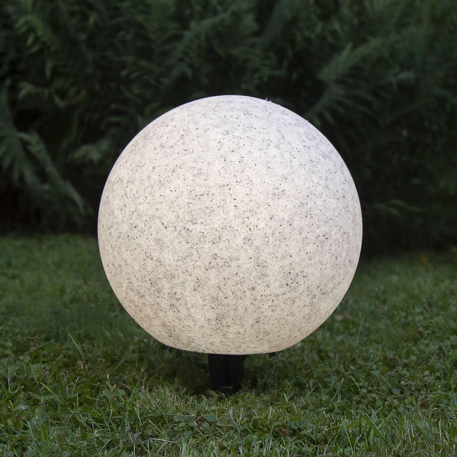 Lampada da terrazza Gardenlight, sfera, Ø 30 cm