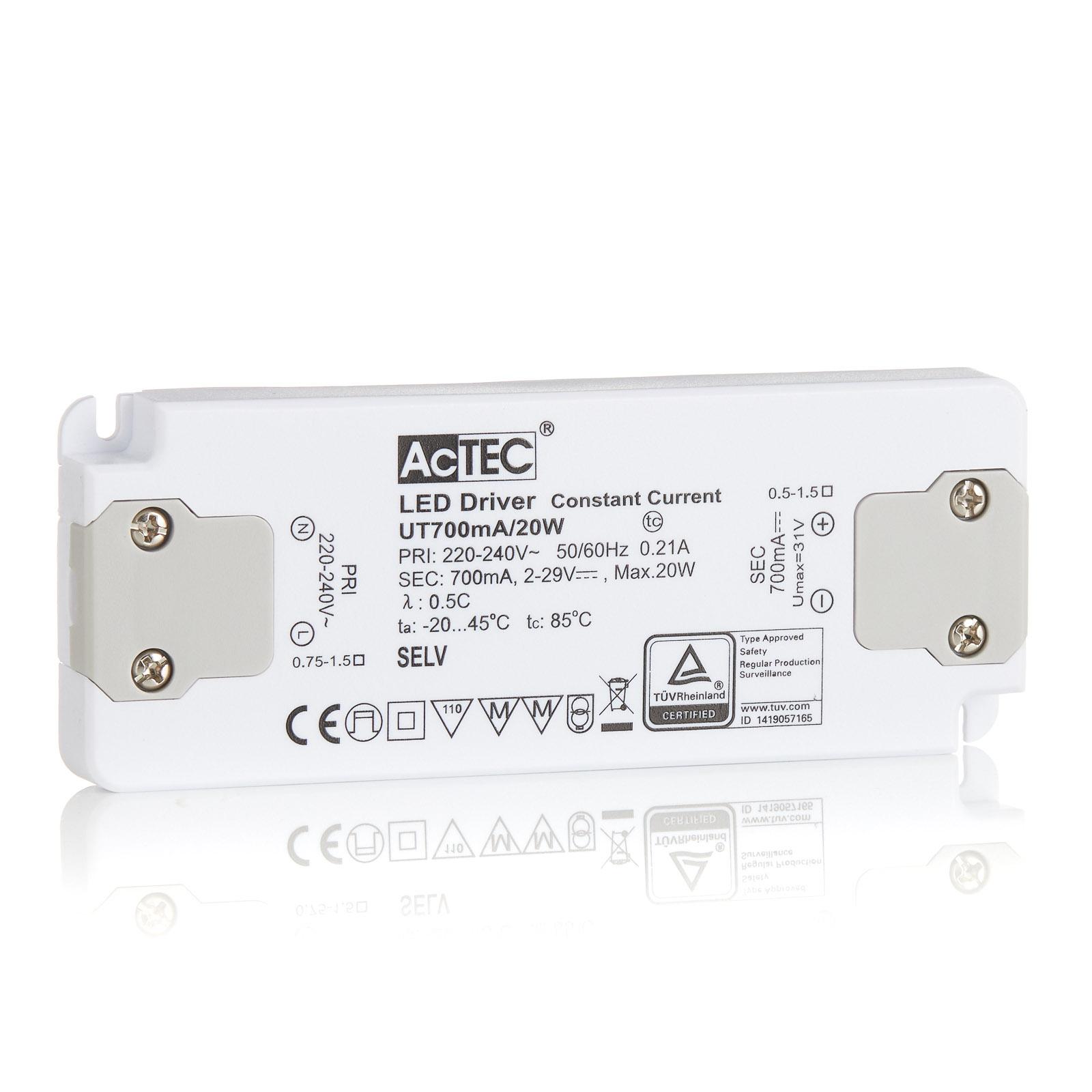 AcTEC Slim LED driver CC 700mA, 20W