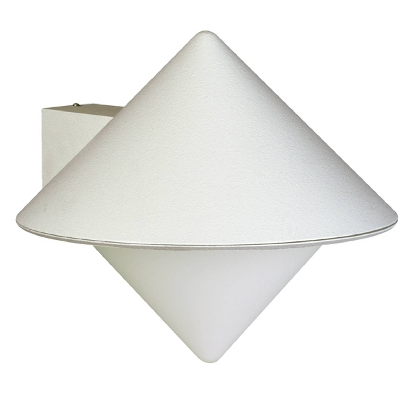 Moderne buitenwandlamp 199, wit