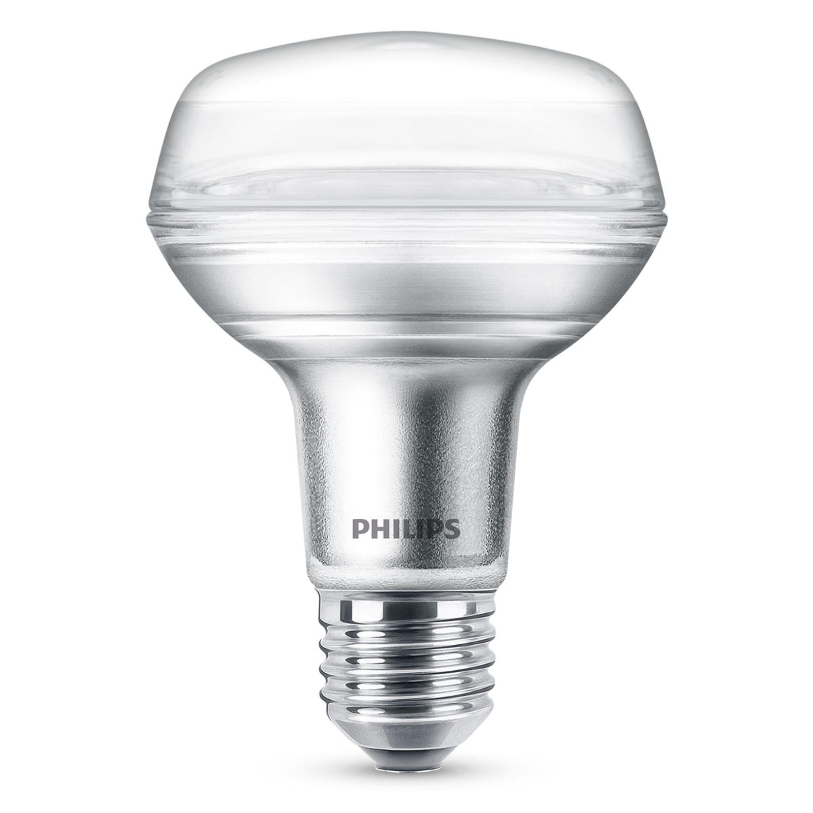 Philips LED-Reflektor E27 R80 4W 827