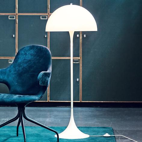 Louis Poulsen Panthella - lampadaire design, opale