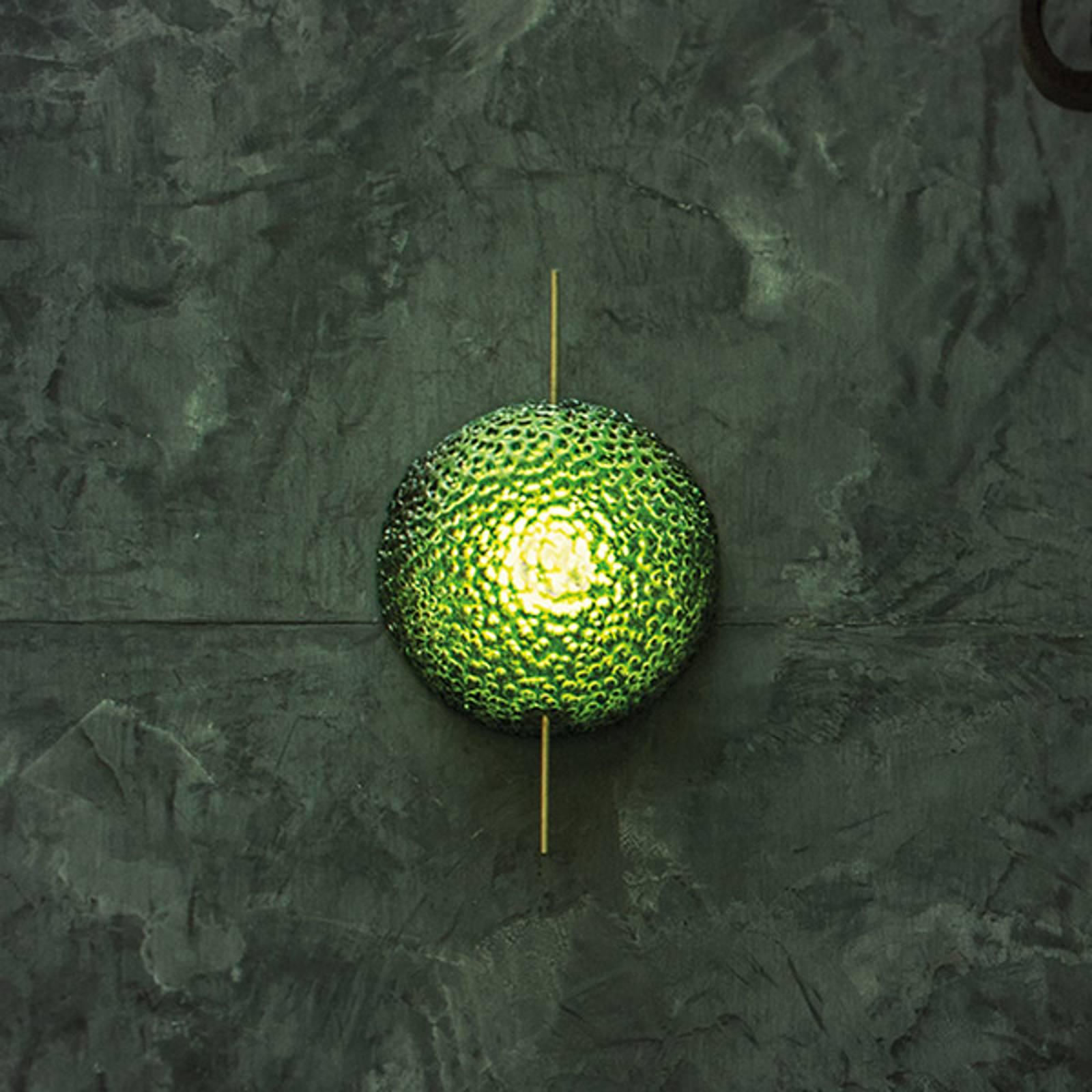 Catellani & Smith Medousê W LED-Wandleuchte, grün