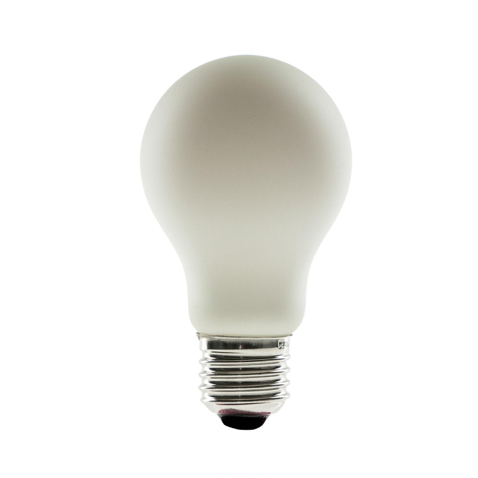 SEGULA LED-Lampe E27 8 W opal ambient dimming