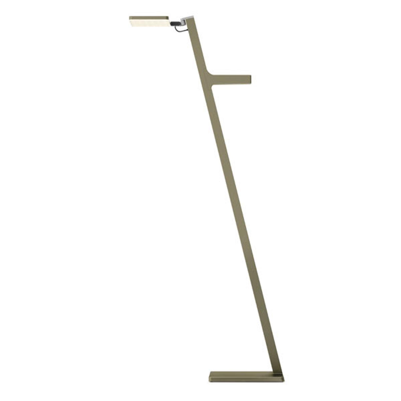 Nimbus Roxxane Leggera lampadaire LED, bronze
