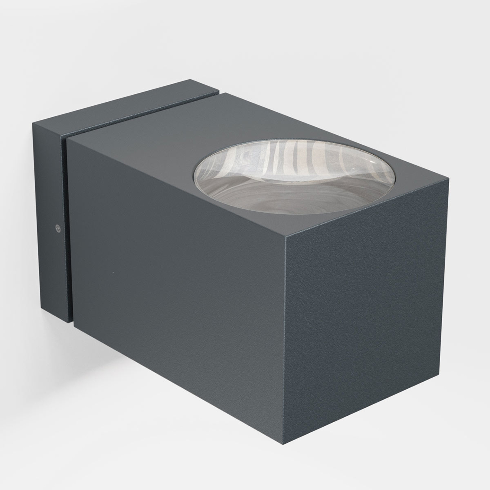 IP44.de como LED buitenwandlamp, antraciet