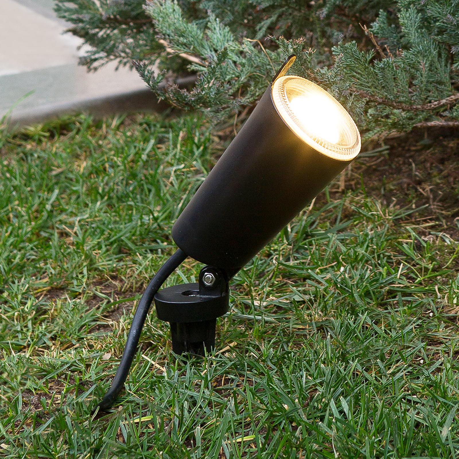 Reflektor i reflektor z grotem ziemnym Toni