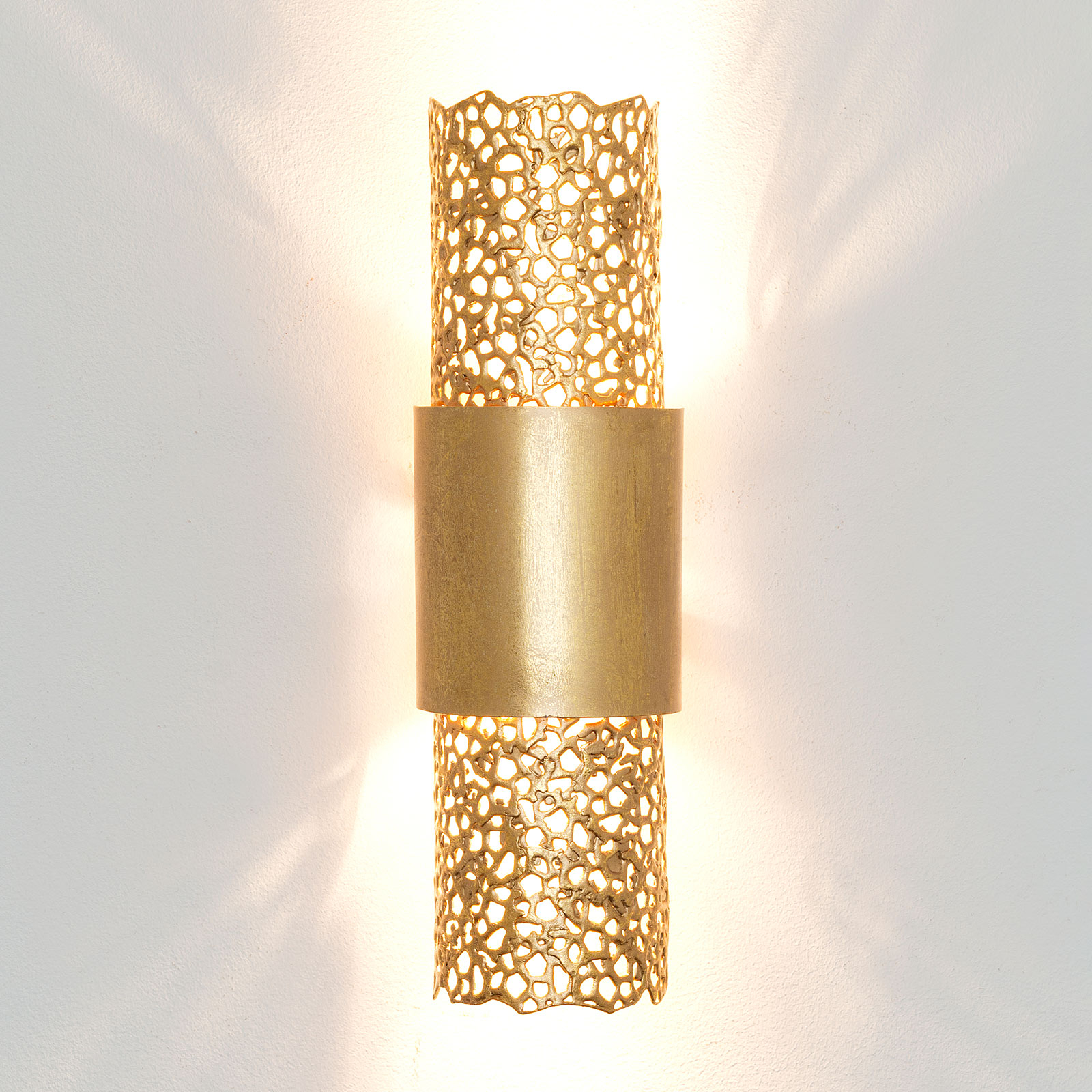 Wandlamp Palazzo, goud