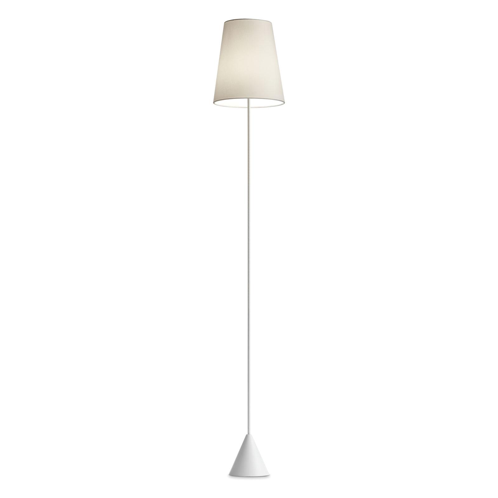 Modo Luce Lucilla vloerlamp Ø 30cm wit/ivoor