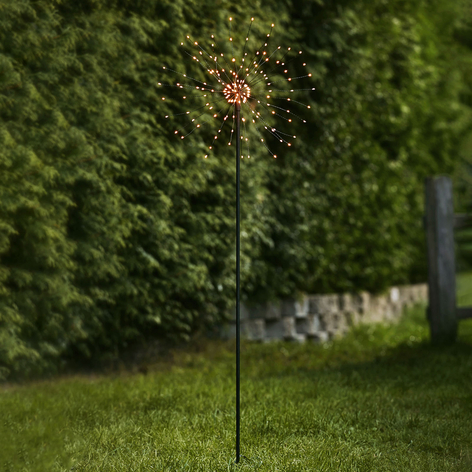 LED-Dekoleuchte Firework Outdoor, warmweiß