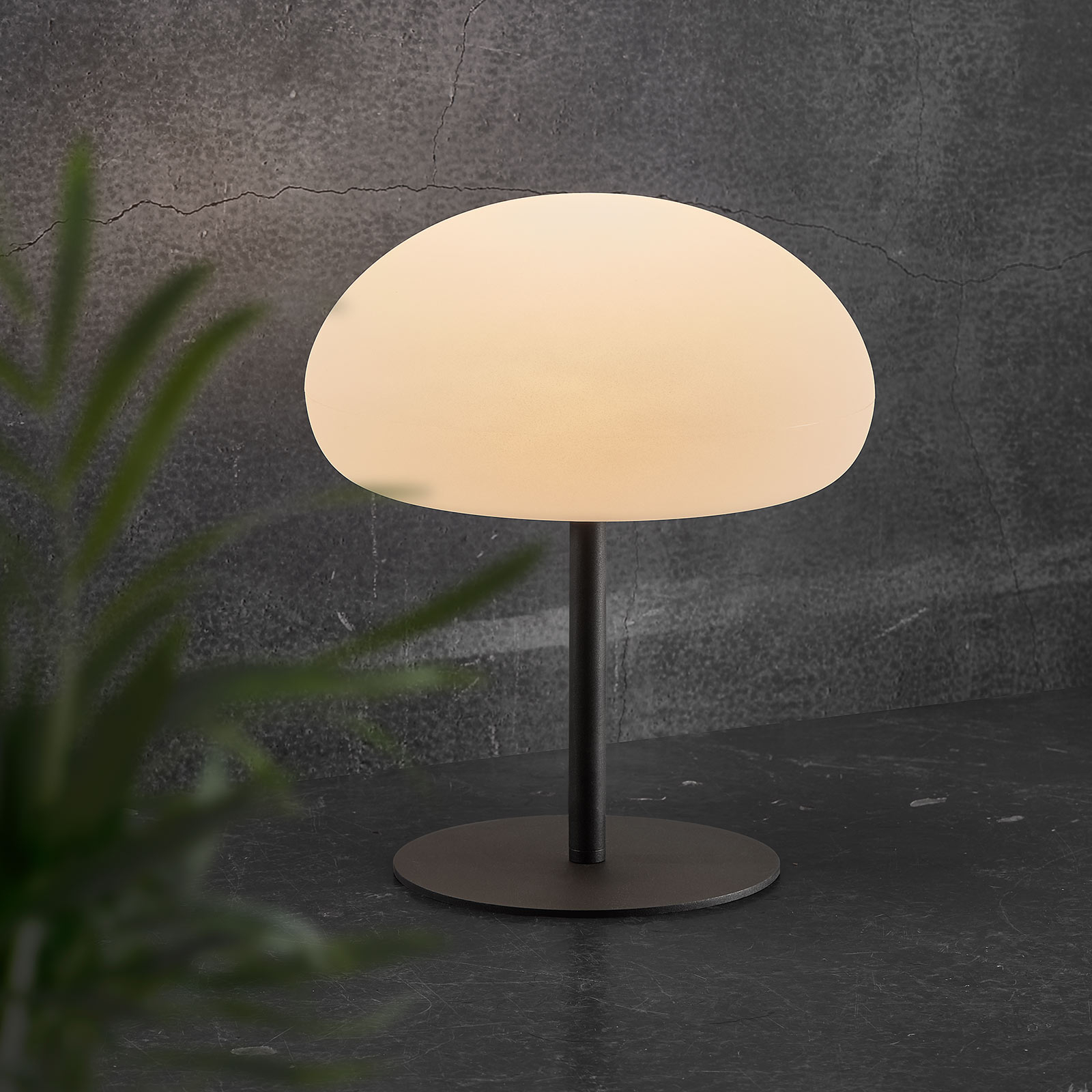 LED-bordslampa Sponge table batteri 40,5 cm hög