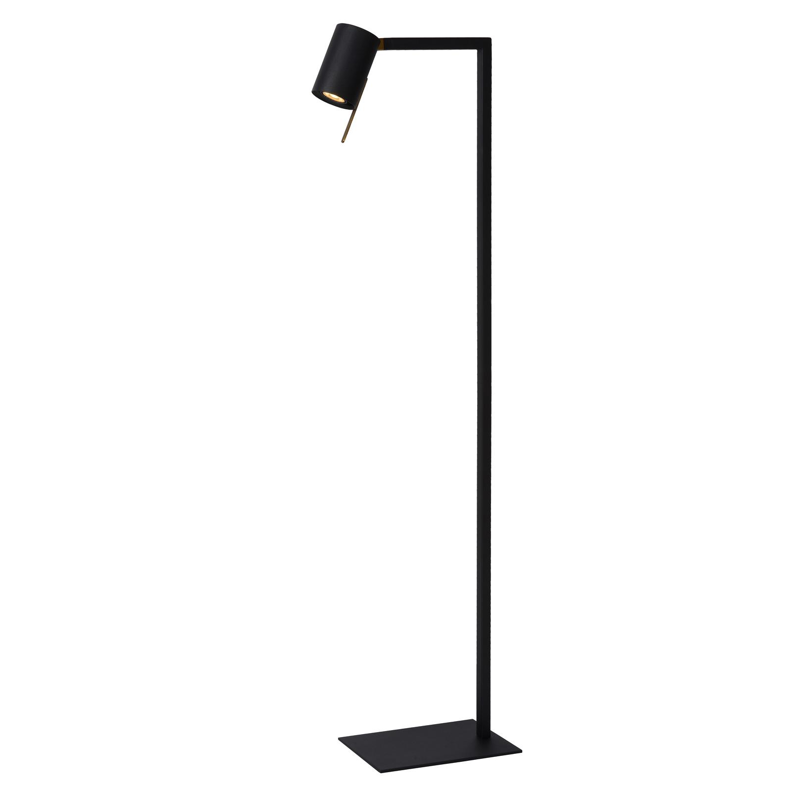 Vloerlamp Lesley, zwart