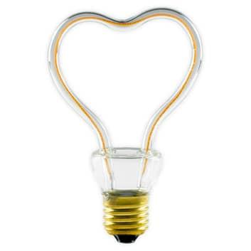 LED Art Line Heart E27 8W 330 lm blanco cálido