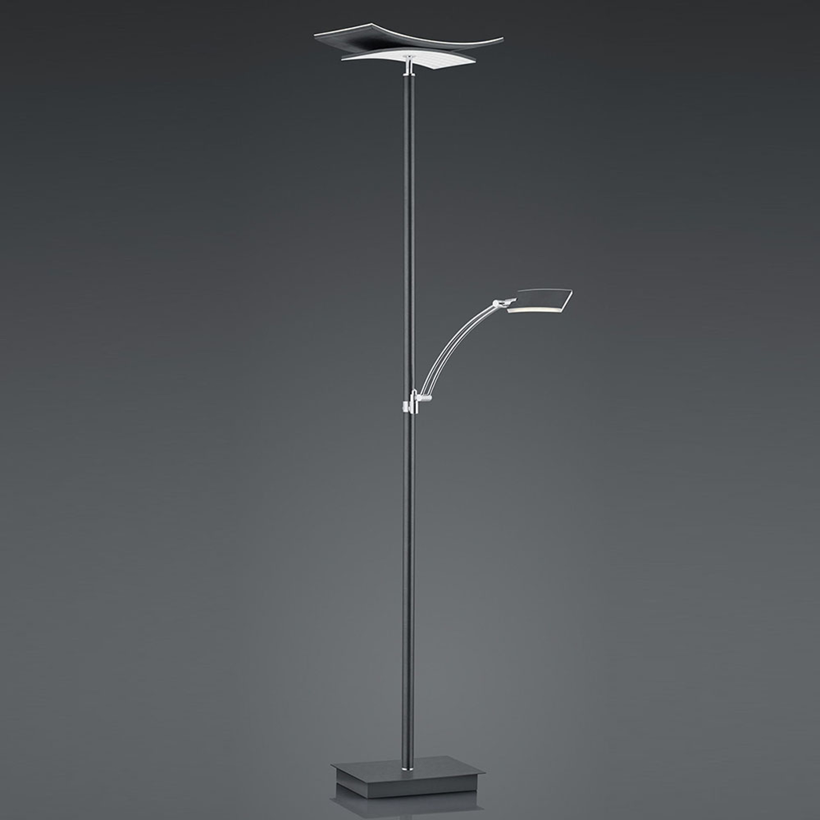 B-Leuchten Liberty lampadaire liseuse anthracite