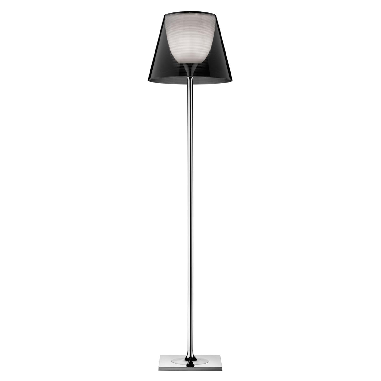 FLOS KTribe F2 stojací lampa, průhledná