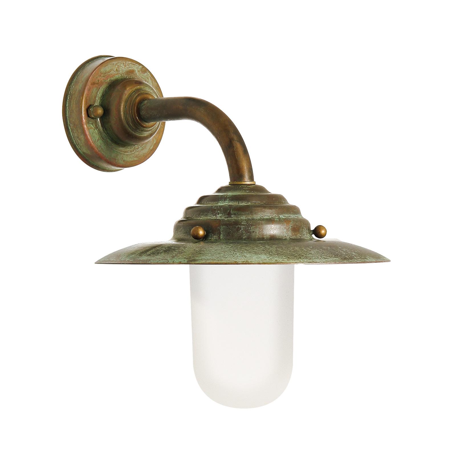 Lampa ścienna Antique, 26 cm, antyczny miedź
