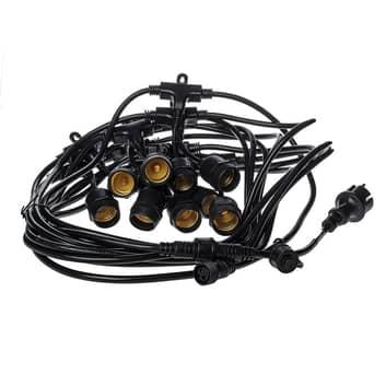 Łańcuch świetlny Girlanda IP44 czarny 15m