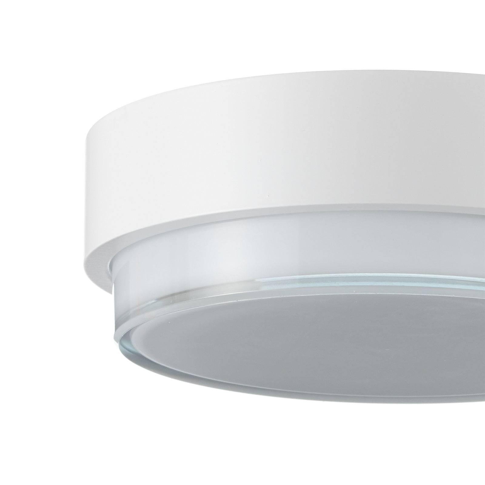 BEGA 50536 lampa sufitowa LED 930 biała Ø21cm
