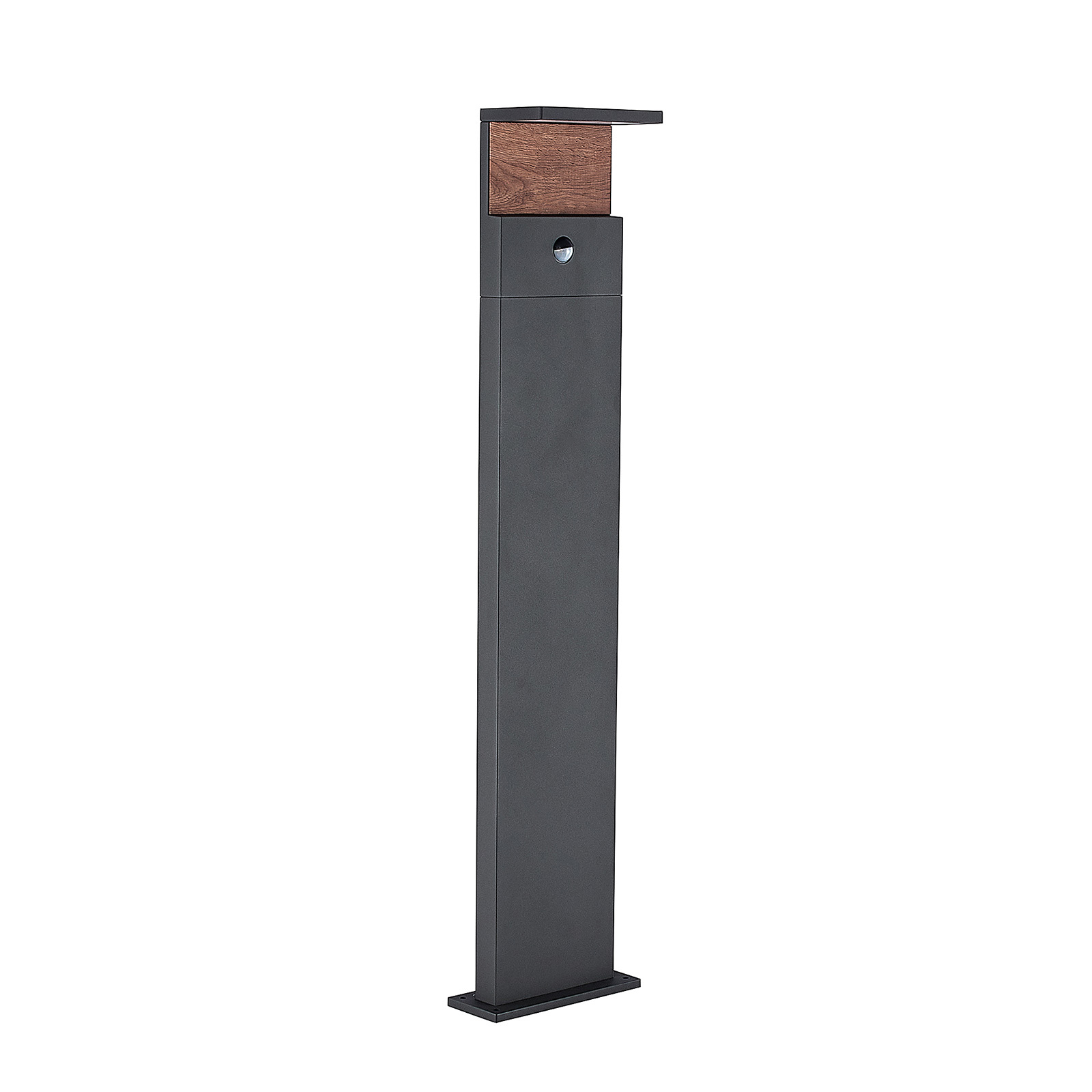 Lucande Lignus LED-Wegeleuchte, Bewegungsmelder