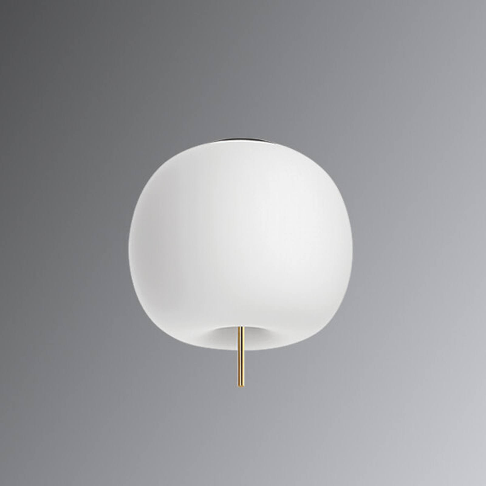 Kundalini Kushi - LED plafondlamp messing 33 cm