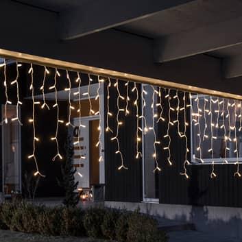 LED-ljusgardin 24V-system Förlängning 100 ljus