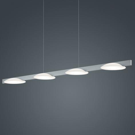 Helestra Pole LED-Pendellampe vierflammig