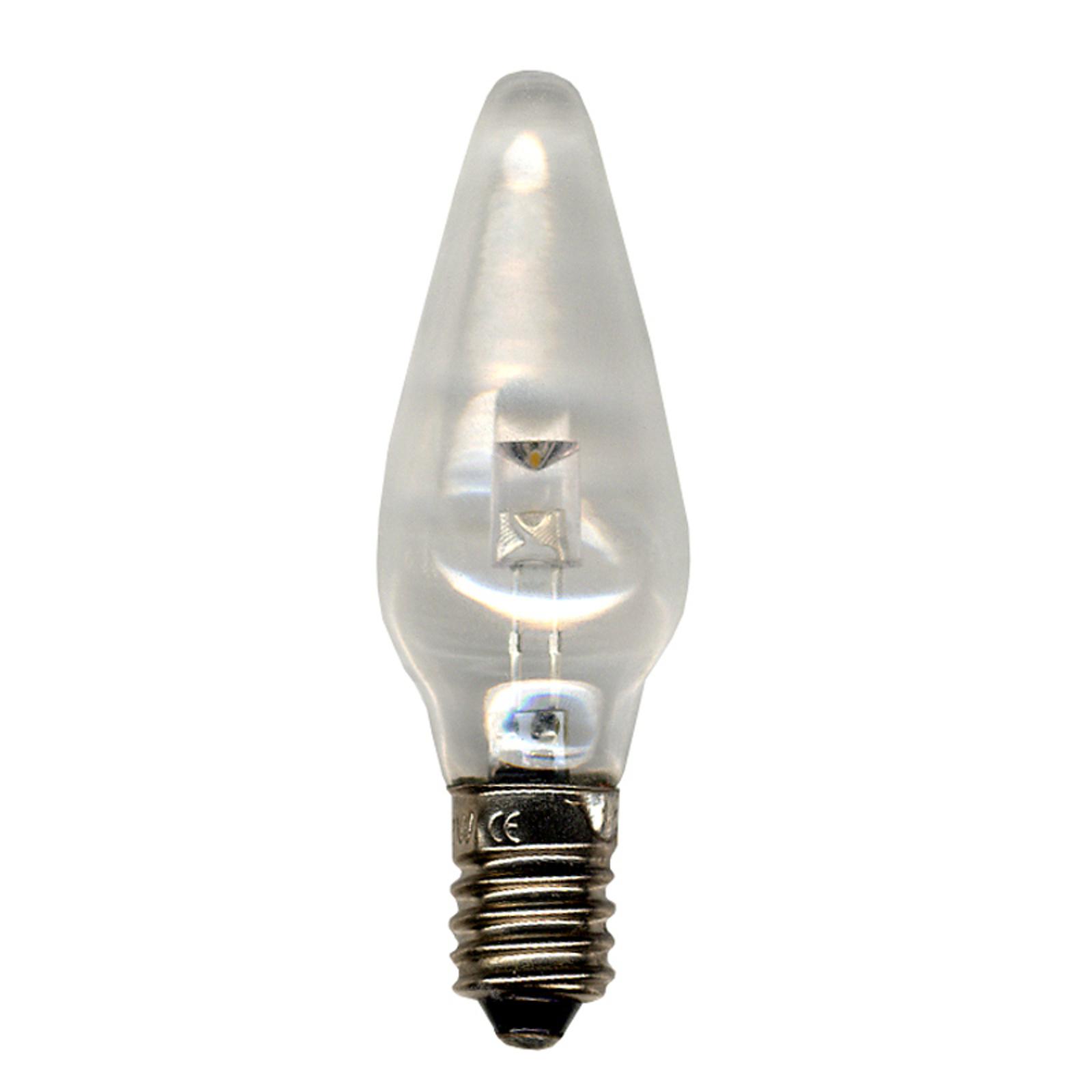 E10 0,2W 12V LED-reservepærer, 3 stk., klar