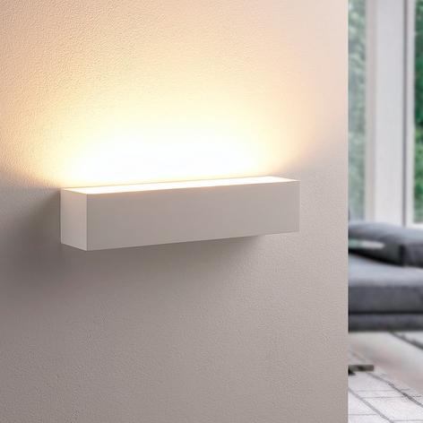 Santino - wandlamp van wit gips