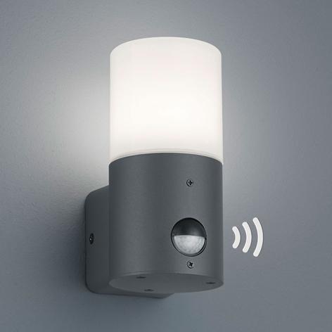 Venkovní svítidlo Hoosic 1zdr. senzor, antracit