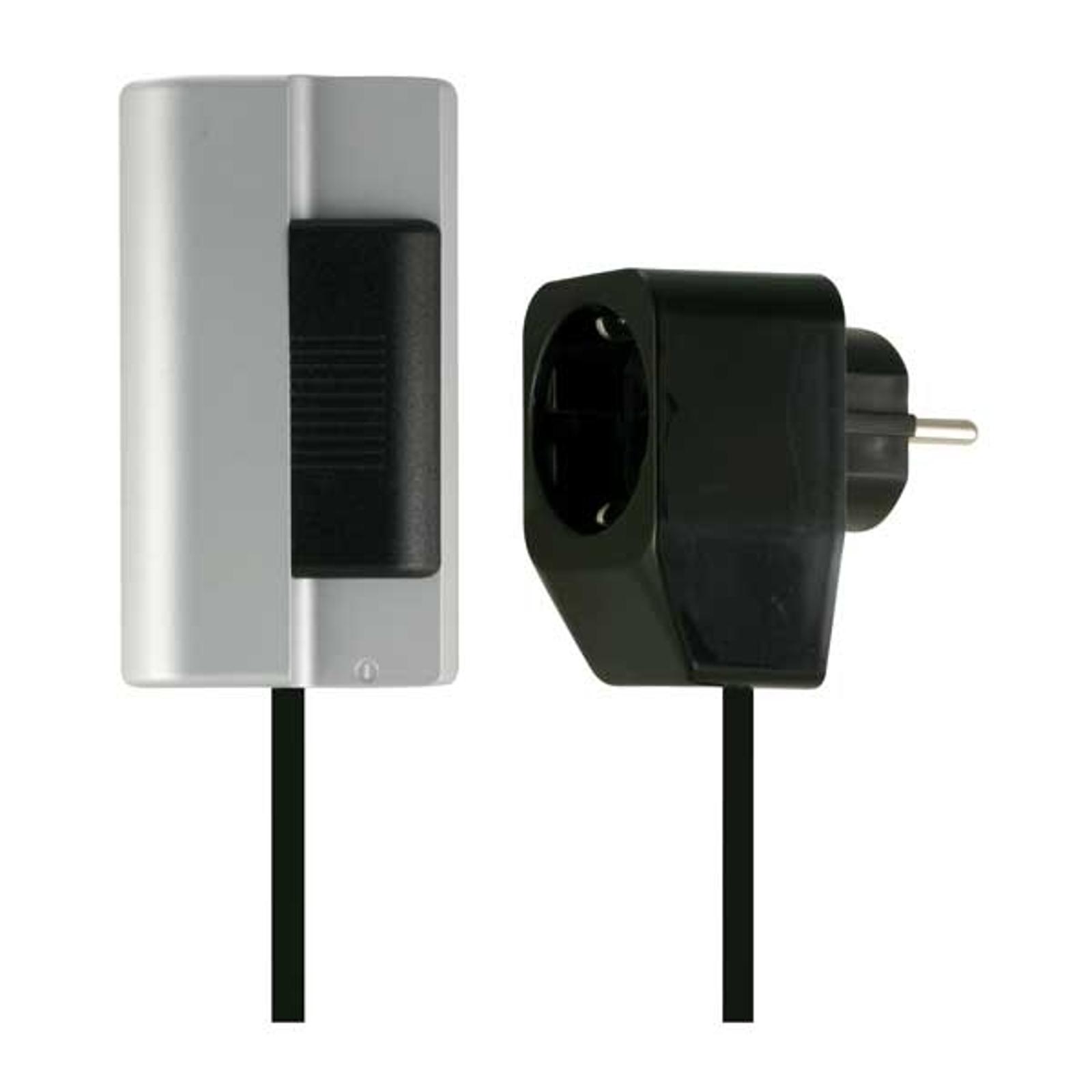 Kvalitets ledningsdimmer svart 500W