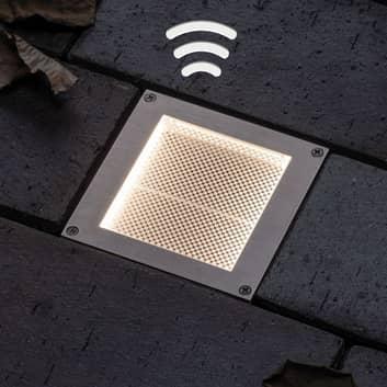 Paulmann aurinkokäyttöinen LED-lattiaspotti Aron