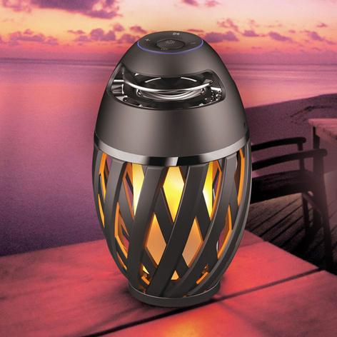 Lampe décorative LED Stream à haut-parleur