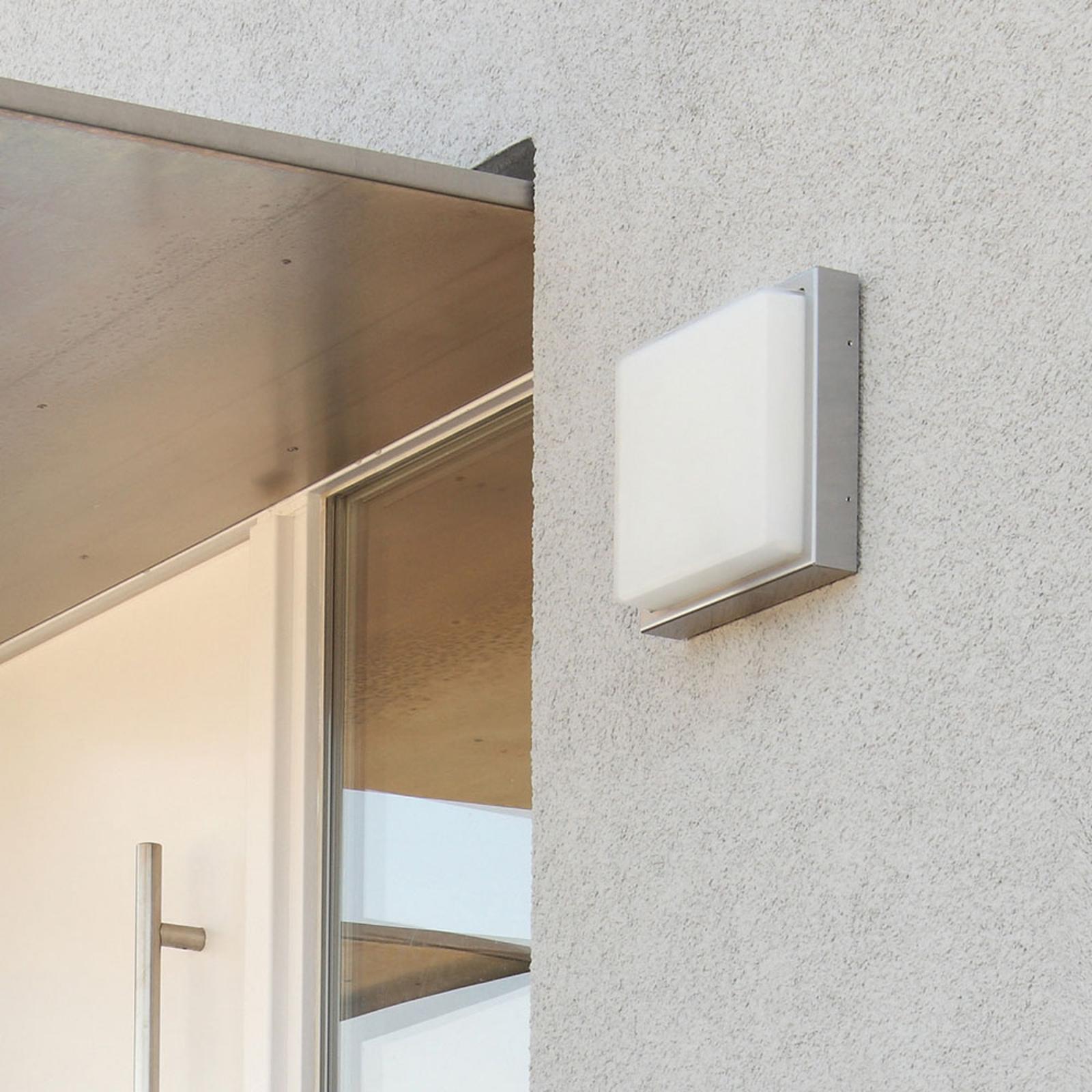 Applique d'extérieur LED 046, acier inoxydable